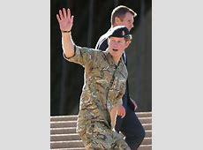 Prince Harry says g'day and goodbye to the people of