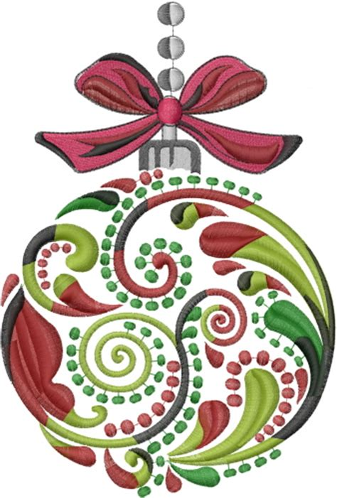 holidays embroidery design christmas ornament from