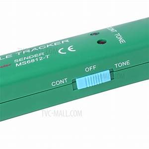 Professional Aim Ms6812 Telephone Wire Tracer Portable Utp