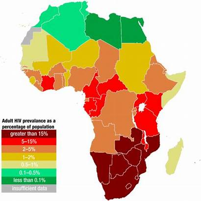 Africa Hiv Aids Map Percentage Poverty South