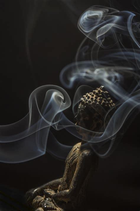 images light  stone smoke aroma statue