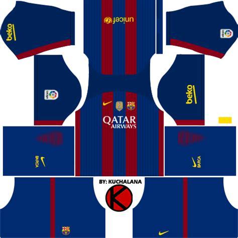 barcelona kits 2016 2017 league soccer 2017 fts15 kuchalana