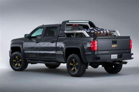truck car black 2014 chevy silverado black ops concept truckin