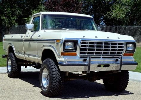 purchase used 1979 ford f 250 lariat cer special factory highboy 4x4 in boise idaho united