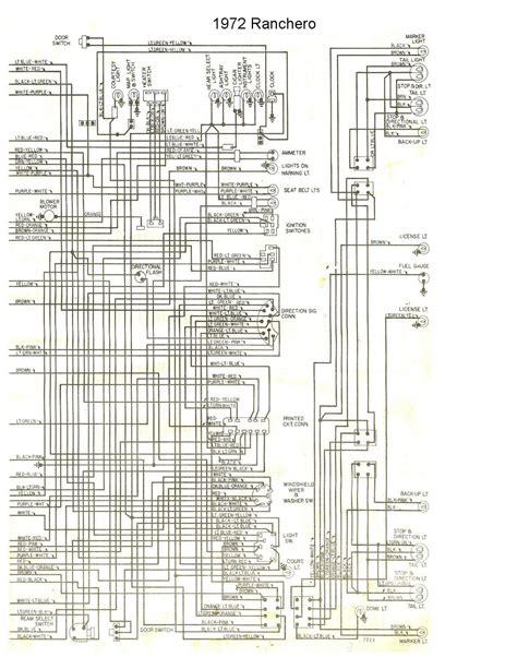 78 Ford Ranchero Wiring Diagram free auto wiring diagram 1972 ford ranchero wiring diagram