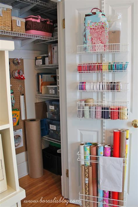 Office And Craft Closet (re) Organization Borealis