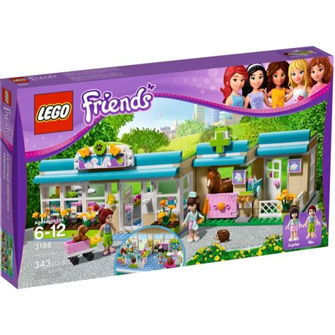 Lego Friends Sets 3188 Heartlake Vet New