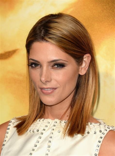 Ashley Greene Medium Straight Cut Ashley Greene Hair