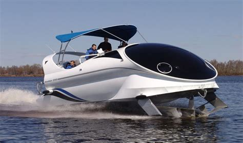Hydrofoil Glass Bottom Boat by Looker 350 A Russian Built Hydrofoil Assisted High Speed