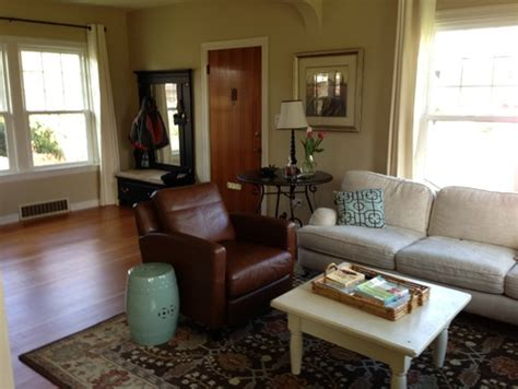 Living Room With Door In Middle by Need Help With Awkward Entry Living Room