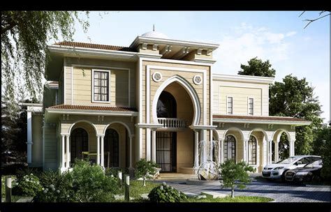 villa architecture designs luxury villas modern andalusia palace riyadh