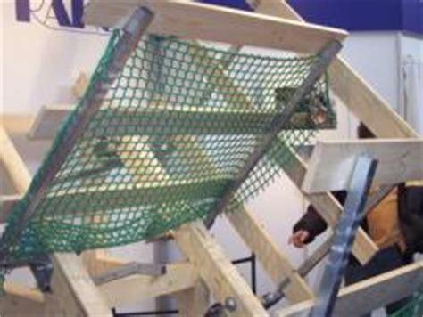 kupferbleche für dach fangnetz sicherheitsnetz f 195 188 r dachdecker zum befestigen am dachstuhl bauunternehmen