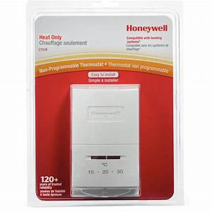 Honeywell  Manual Heat Only Thermostat    Fennell  U0026 Gage