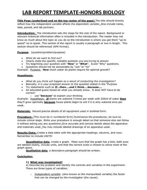 lab report template  commercewordpress