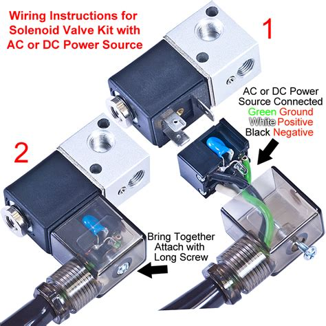 New Solenoid Valve Kit For Electro Pneumatic