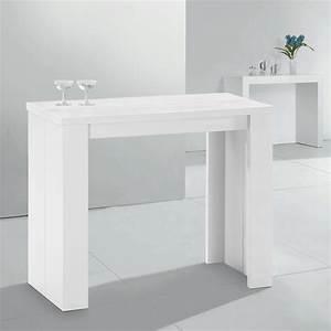 Table Console Extensible : table console haute extensible ~ Teatrodelosmanantiales.com Idées de Décoration