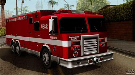 Fdsa Urban Search & Rescue Truck For Gta San Andreas
