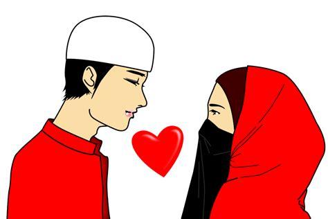 This makes it suitable for many types of projects. 47+ Gambar Sketsa Kartun Pasangan Muslim