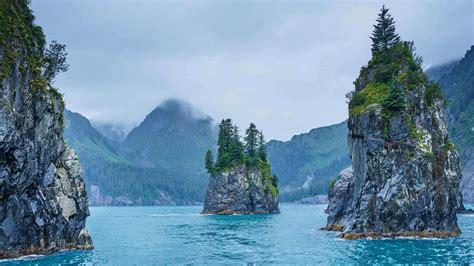 Cove Of Spires In Kenai Fjords National Park Alaska