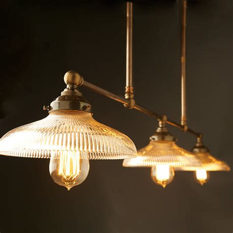 antique pool table light vintage edison billiards table light