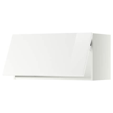 horizontal wall mounted cabinet metod wall cabinet horizontal white ringhult white 80x40