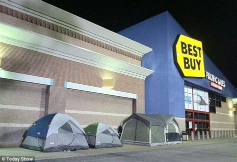 black friday crazed shoppers around the country lining up