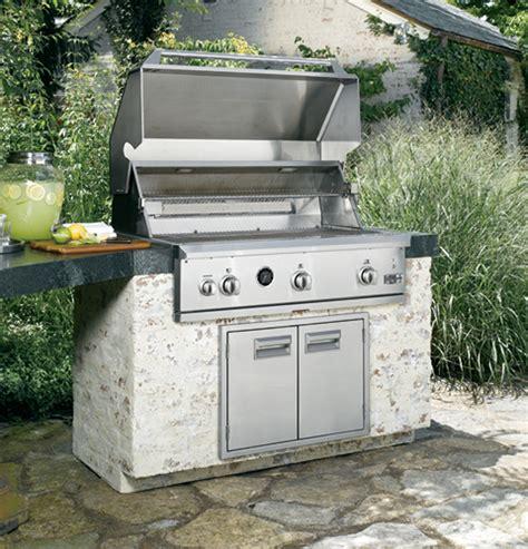zggnbpss monogram  outdoor cooking center  monogram collection