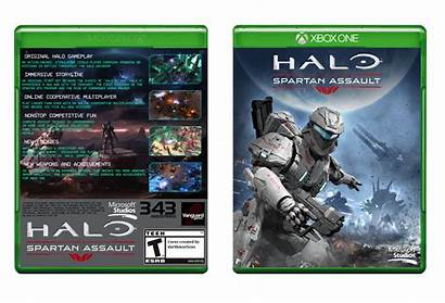 Spartan Halo Assault Box Xbox Vgboxart