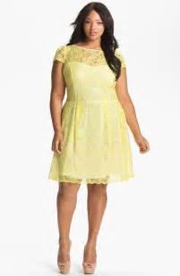 plus size yellow lace dress best dress choice
