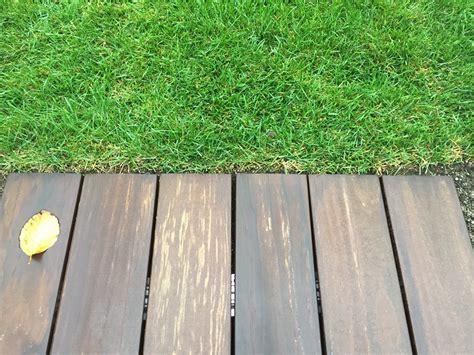 Terrasse Auf Rasen Bauen by Holzterrasse Ohne Schrauben Verdeckt Bs Holzdesign