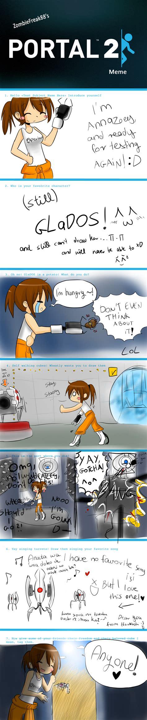 Portal 2 Meme By Anzu0