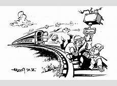 Die Regierung zieht die Schuldenbremse! Karikaturen