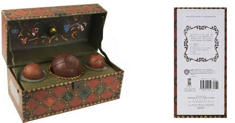 amazon harry potter collectible quidditch set  book