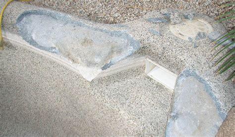 Pool Cement Repair