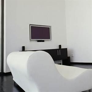 Fixer Une Télé Au Mur : meuble tv accroche au mur maison design ~ Premium-room.com Idées de Décoration