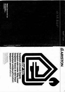 Ariston Skup 100 Fridge   Refrigerator Download Manual For