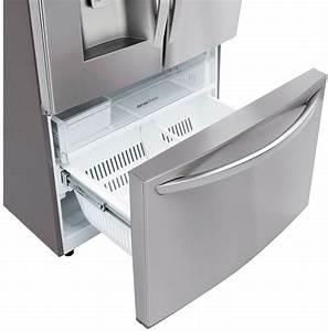 Lg Lfxs26973s 36 Inch French Door Refrigerator With Slim