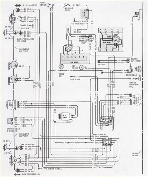 Wiring Diagram 1970 Camaro by 1970 Camaro Engine Forward Light Wiring Schematic