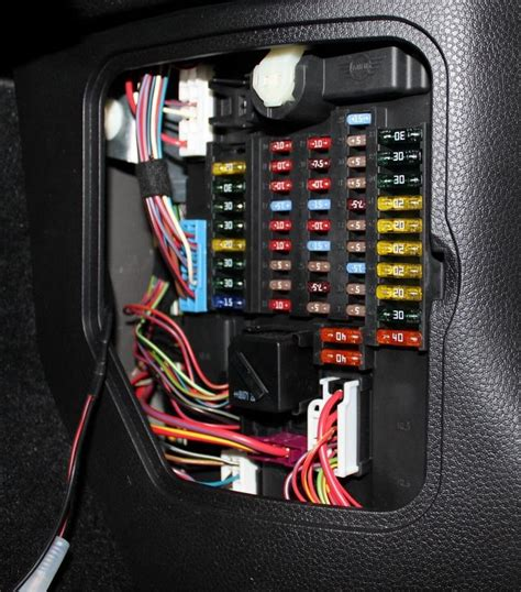 F56 Fuse Box by Electrical Radar Detector Gps Hiding Wires