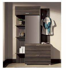 meuble d39entree jet azura home design With meuble entree avec miroir 3 meuble dentree maja azura home design