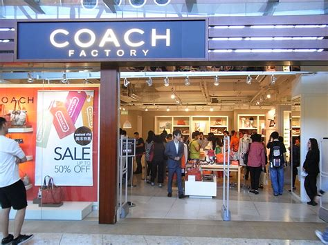 Coach Factory Outlet, Shopping Place In Singapore