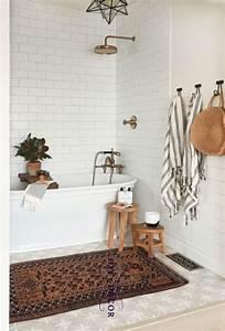 Simple, Bathroom, Decor, Ideas, Boho, Chic, Bath, Design