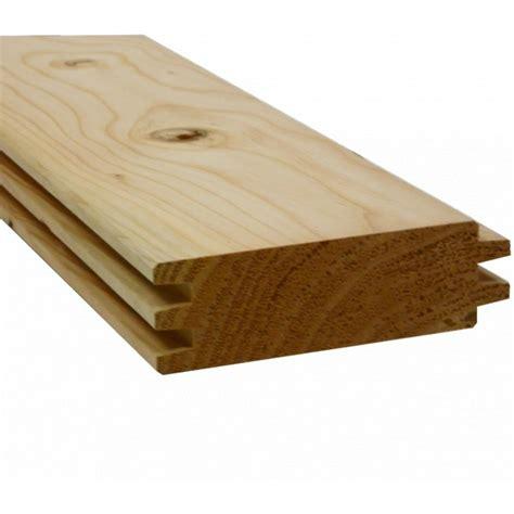 madrier chalet embo 238 tement douglas naturel 45x135mm en 3m sud bois bois discount