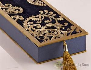 Wedding invitation cards in box shaped design for Wedding box cards india
