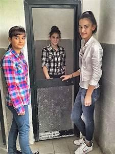 Mother teresa school bathroom project albania water for Girls in bathroom with boys