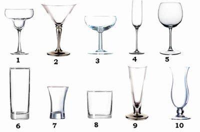 les verres 224 cocktail