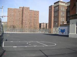 Image Gallery inner city school playground