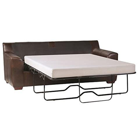 sleep master cool gel memory foam   sleeper sofa