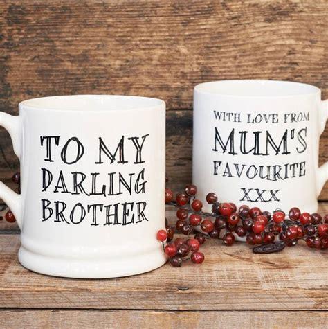 darling brother or darling sister mug by sweet william