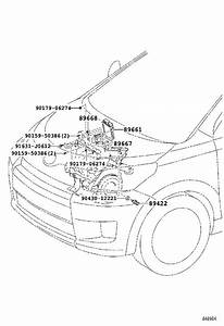 Scion Xd Engine Control Module  Electrical  System